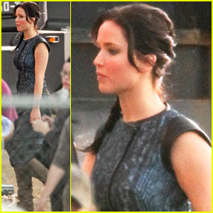 Jennifer Lawrence: 'Catching Fire' Set!