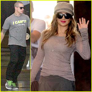 Jennifer Lopez & Casper Smart: Lisbon Tour Stop!