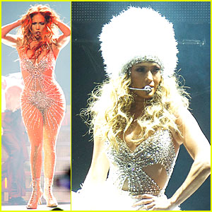 Jennifer Lopez: Madrid 'Dance Again' Concert!