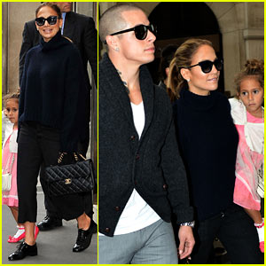Jennifer Lopez: Shopping with Casper Smart & the Kids!