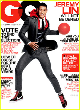 Jeremy Lin Covers 'GQ' November 2012