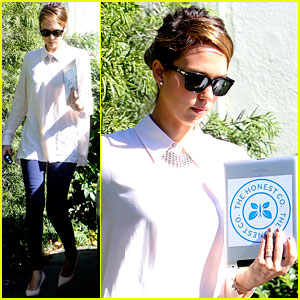Jessica Alba: 'We All Have An Equal Voice in the Voting Booth!'