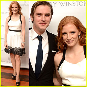 Jessica Chastain: Harry Winston Dinner Honoree!