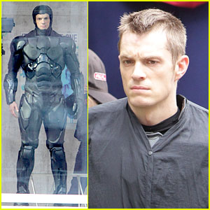 Joel Kinnaman: 'Robocop' Introduction Scene!