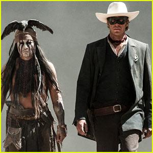 Johnny Depp & Armie Hammer: 'Lone Ranger' Trailer!