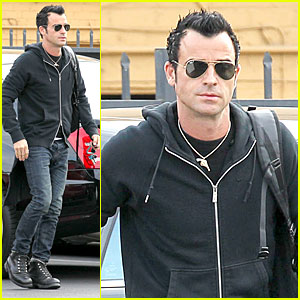 Justin Theroux: 'Funny or Die' Arrival in West Hollywood!