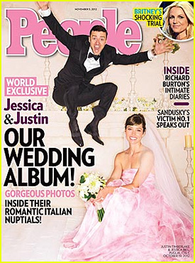 Justin Timberlake & Jessica Biel: Wedding Picture Revealed!