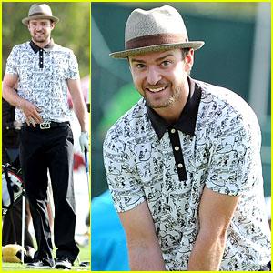 Justin Timberlake: Shriners Hospital Golf Tournament!