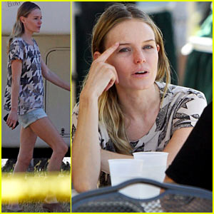 Kate Bosworth: 'Homefront' Set with Jason Statham!