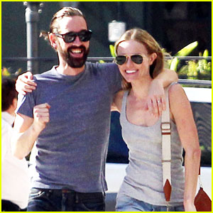 Kate Bosworth & Michael Polish: Laughing Lovers!