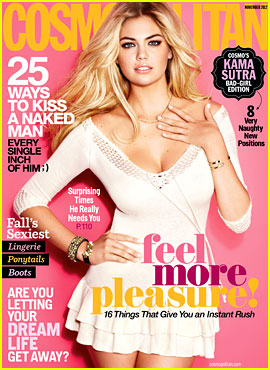 Kate Upton Covers 'Cosmopolitan' November 2012