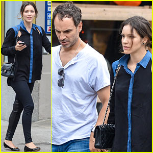 Katharine McPhee: West Village Lunch with Husband Nick Cokas!