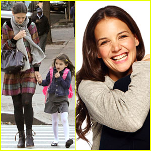 Katie Holmes: 'Dead Accounts' Photo Shoot Exclusive Video!