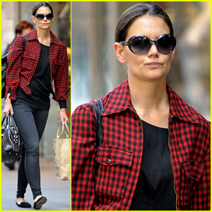 Katie Holmes: Organic Avenue Food Run!