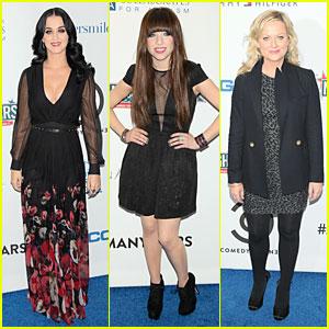 Katy Perry & Carly Rae Jepsen: Night of Too Many Stars Benefit!
