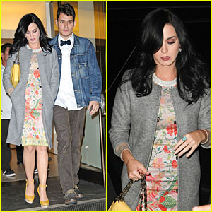Katy Perry: John Mayer's Birthday Dinner