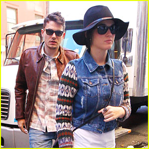 Katy Perry: Birthday Lunch for John Mayer!