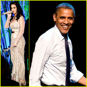 Katy Perry: Obama Concert & Hammer Gala Performer!