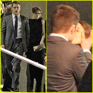 Keira Knightley & Chris Pine: Kissing Scene on 'Jack Ryan' Set