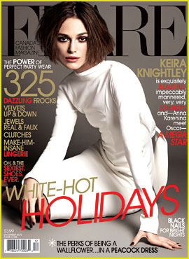 Keira Knightley Covers 'Flare' Magazine December 2012