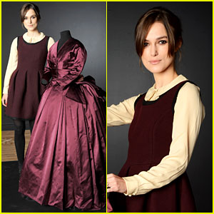 Keira Knightley: Hollywood Costume Exhibition!