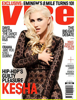 Kesha Covers 'Vibe' November 2012