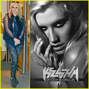 Ke$ha: 'My Crazy Beautiful Life' Book Cover Revealed!