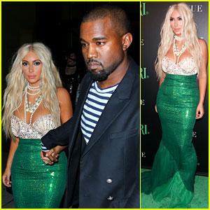 Kim Kardashian & Kanye West: Mermaid & Sailor for Halloween!