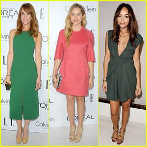Kristen Wiig & Teresa Palmer - Elle Women in Hollywood 2012