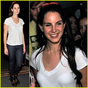 Lana Del Rey: 'Ride' Santa Monica Premiere!