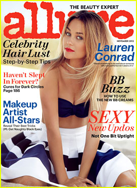 Lauren Conrad Covers 'Allure' November 2012