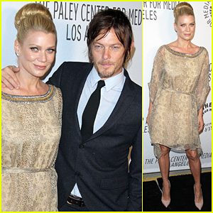 Laurie Holden & Norman Reedus: Paley Center AMC Benefit!
