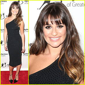 Lea Michele: Big Brother Big Sister Stars Gala!