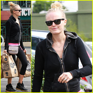 Malin Akerman: 'I'm Due in April!'
