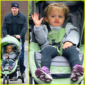 Matt Damon: SoHo Stroll with Stella!