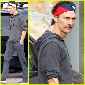 Matthew McConaughey: Monday Morning Drop Off!