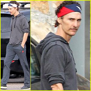 Matthew McConaughey: Monday Morning Drop Off!