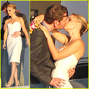 Michael Fassbender Gets Down on His Knees for Natalie Portman!