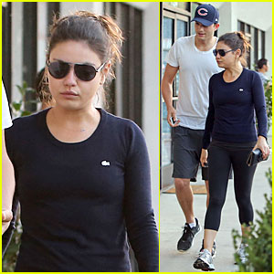 Mila Kunis &#038; Ashton Kutcher: Foot Pampering Couple!