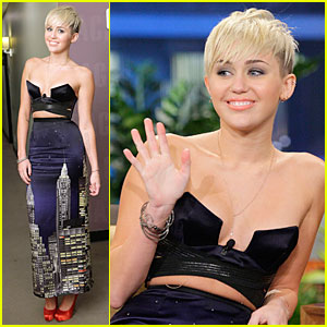 Miley Cyrus: 'Tonight Show With Jay Leno' Appearance!
