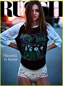 Miranda Kerr Covers 'Russh' October/November 2012