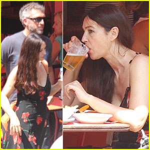 Monica Bellucci: Brazilian BBQ with Vincent Cassel!