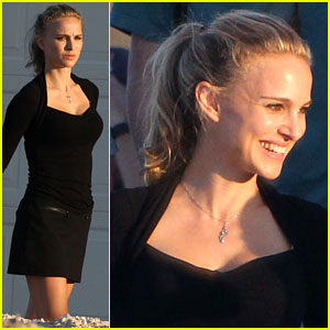 Natalie Portman: 'Untitled Terrence Malick Project' Set
