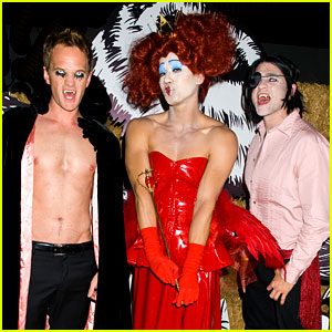 Neil Patrick Harris: Shirtless at Just Jared Halloween Party!