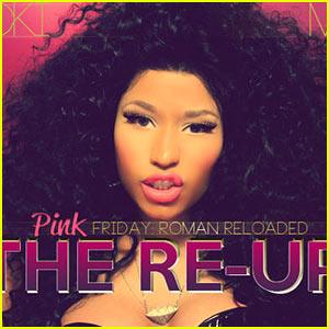 Nicki Minaj: 'Pink Friday: Roman Reloaded The Re-Up' Artwork!