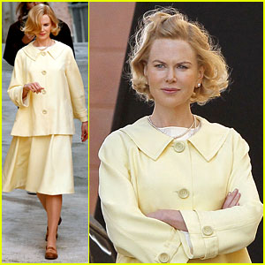 Nicole Kidman as Grace Kelly - First Look!