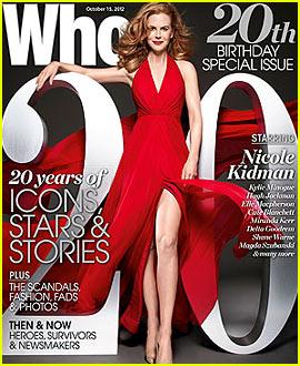 Nicole Kidman Talks Tom Cruise & Katie Holmes Divorce to 'Who' Magazine