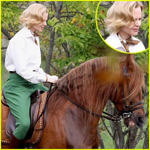 Nicole Kidman: Horseback Riding for 'Grace of Monaco'!