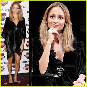 Nicole Richie: 'Teen Vogue' Fashion University Event!