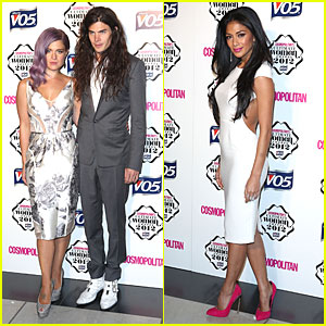 Nicole Scherzinger & Kelly Osbourne: Cosmopoilitan Ultimate Woman of the Year Awards!